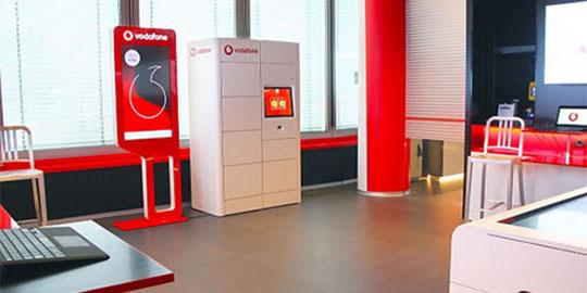 logistica per e-commerce nuovi locker vodafone