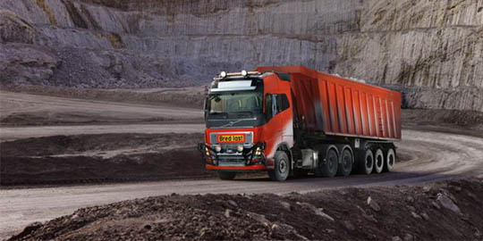 trasporti pesanti autonomi Volvo Trucks