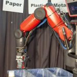 robot per smaltimento rifiuti