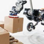 roboto logistica di magazzino