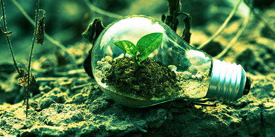 green economy energia pulita
